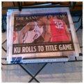The Kansas City Star paper Sunday morning at Panera's! :)