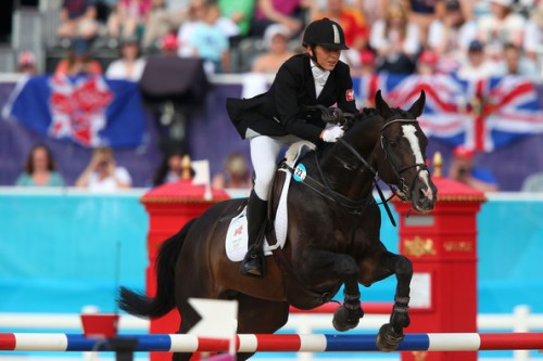 Riding Show jumping during the Women's Modern Pentathlon