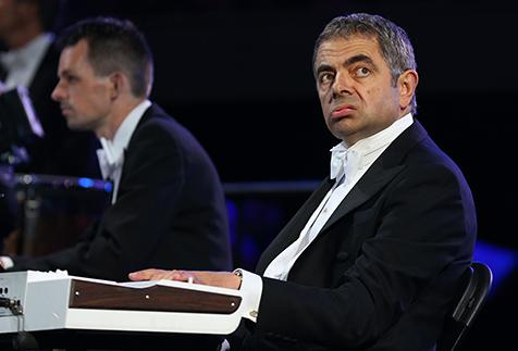 Rowan Atkinson as Mr. Bean- SO funny!