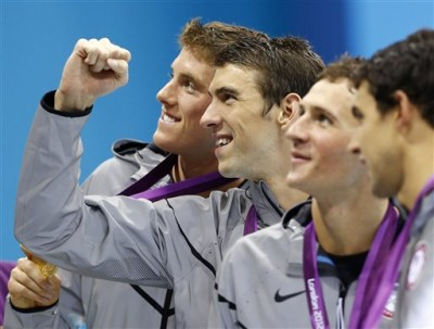 Michael Phelps wins his 19th medal and becomes the most decorated athlete in Olympics history!!