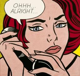 ORIGINAL: 'Ohhh...Alright...' - Roy Lichtenstein, 1964