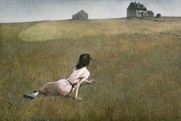 ORIGINAL: 'Christina's World' - Andrew Wyeth, 1948