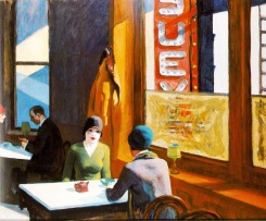 ORIGINAL: 'Chop Suey' - Edward Hopper, 1929