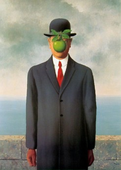 ORIGINAL: 'The Son of Man' - Rene Magritte, 1946