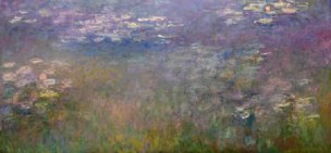 ORIGINAL: 'Water Lilies' - Claude Monet, circa 1915-1926