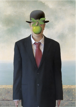 RECREATION: 'The Son of Man' - Rene Magritte, 1946