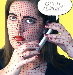 RECREATION: 'Ohhh...Alright...' - Roy Lichtenstein, 1964