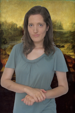 RECREATION: 'Mona Lisa' -Leonardo da Vinci, 1503-1505/1507