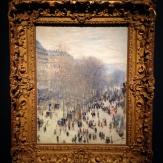 'Boulevard des Capucines', 1873-74 by Claude Monet