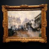 'Le Pont de l'Europe, Gare Saint-Lazare', 1877 by Claude Monet