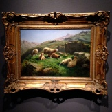 'Grazing Sheep in the Pyrenees,' ca. 1868 by Rosa Bonheur