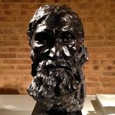 'Final Head of Eustache de St. Pierre,' ca 1886 cast II/IV, 1995 Auguste Rodin