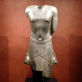 Torso of Archibios, Mendes, Egypt - Ptolemaic Period, 2nd century B.C.E.
