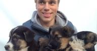 Gus-Kenworthy-rescue-puppies-Sochi
