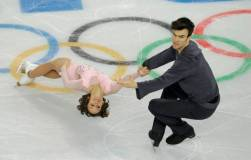 Canada's Meagan Duhamel and Eric Radford's pairs event landing them second spot